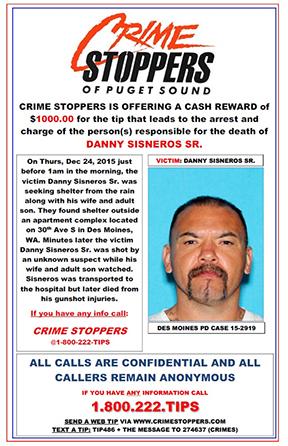 Unsolved Danny Cisneros Sr. Homicide from December 2015