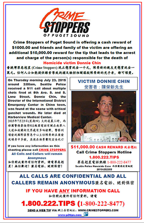 Unsolved Donnie Chin Homicide from July 2015