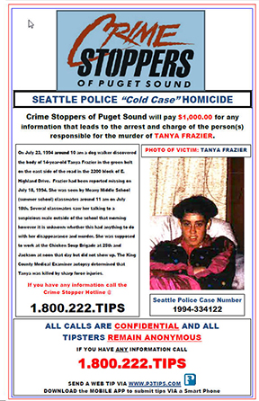 Unsolved Tanya Frazier Homicide from July 1994